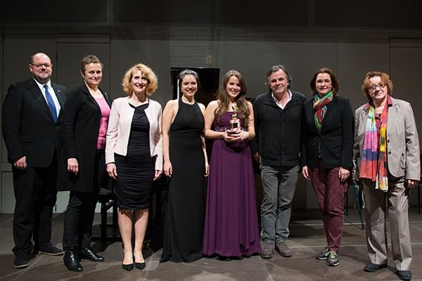 Georgina Oakes Casino Austria Rising Stars Award 2015 - Award Ceremony