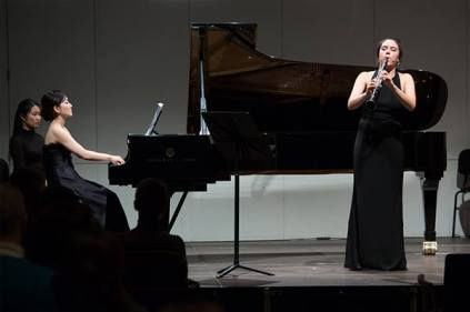 Final Round Performance with Georgina Oakes (clarinet) and Mari Sato (piano)